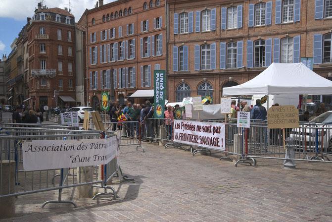 Photo Bruno Besche-Commenge - 12/05/2016 - Mobilisation du 12 mai place Saint-Etienne, Toulouse