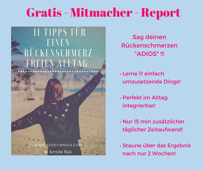 Gratis - Mitmacher - Report bei www.kerstinmais.com