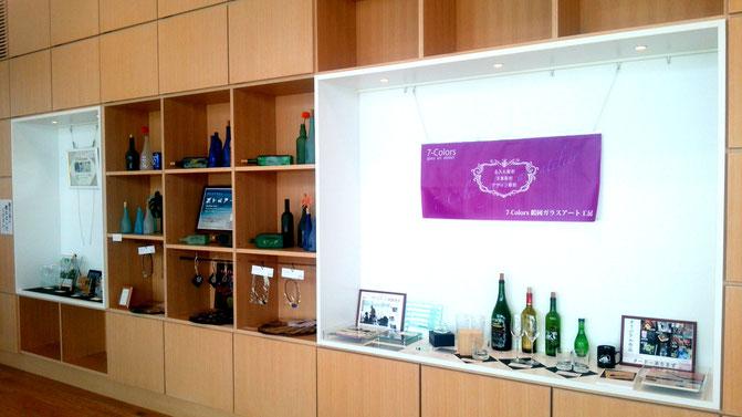 町湯ギャラリー ガラスアート展示会 7-Colors鶴岡ガラスアート工房