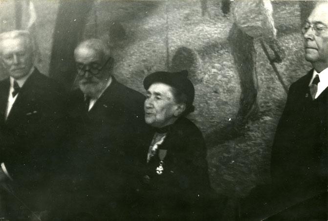 Décoration de la Légion d'honneur de Marie-Thérèse Chadourne