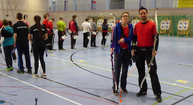 Esslinger Bogenschützen auf der Meisterschaft