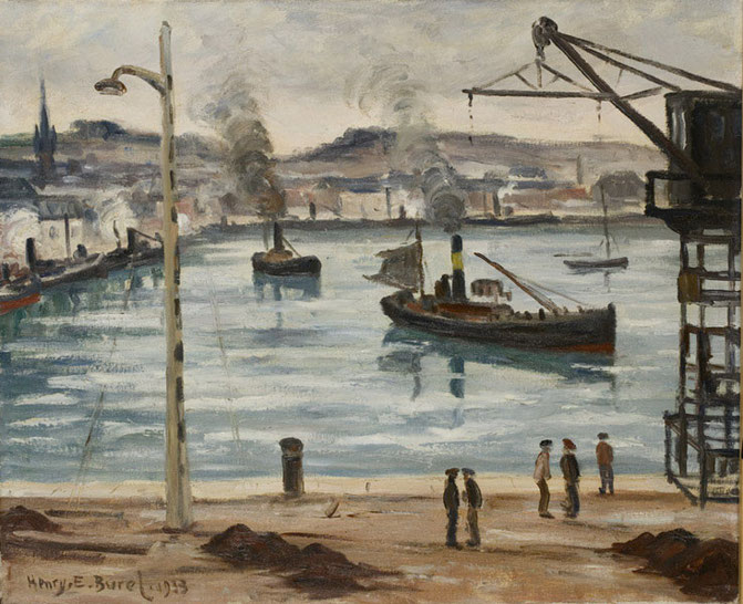 1933 Peinture à l'huile 50/61  Collection imagery  A57 Musée Malraux Le Havre
