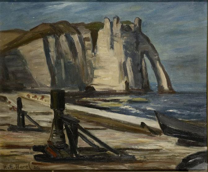 1933 Peinture à l'huile 48,5/57,4  Collection imagery A57bis  Musée Malraux Le Havre