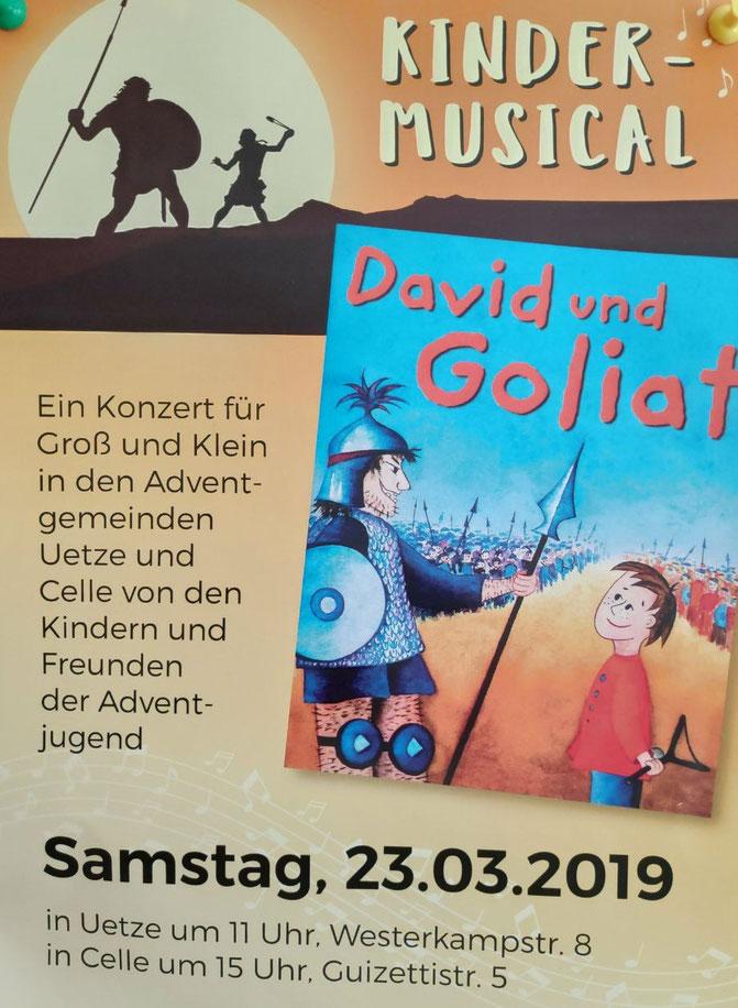 Kindermusical, Musical, Konzert, Kinder, Jungendliche, Kirche, Pfadfinder, Celle, Adventgemeinde
