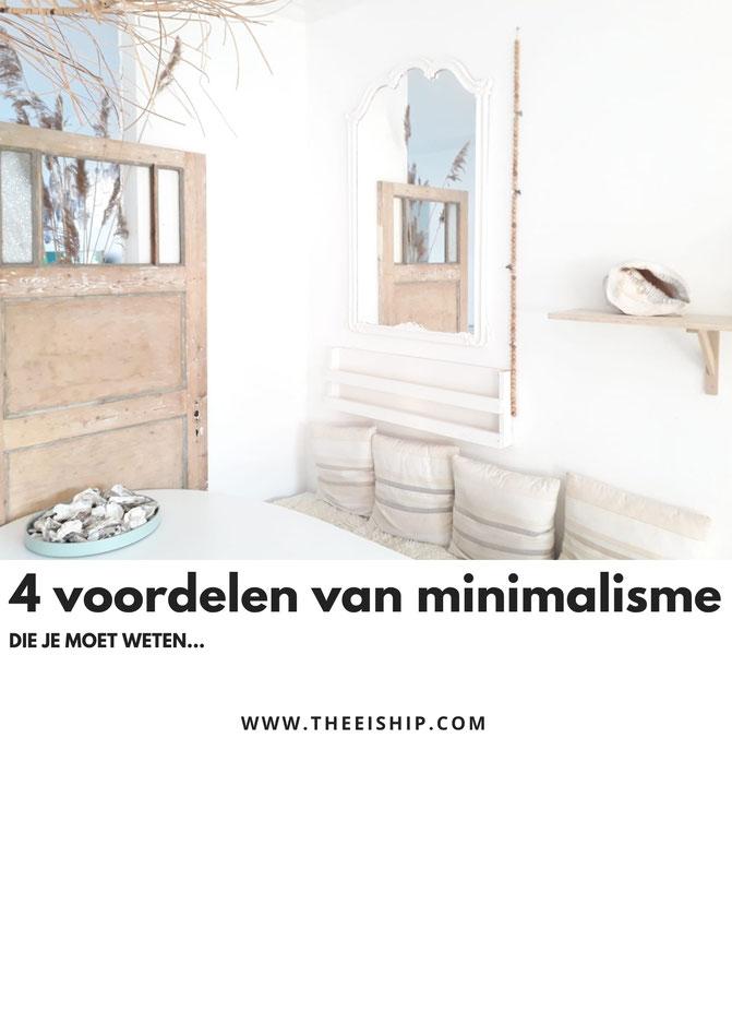 4 voordelen van minimalisme die je moet weten. By Thee is Hip!