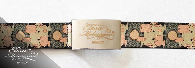 designer belt lether © ELISA MELANZANI BERLIN