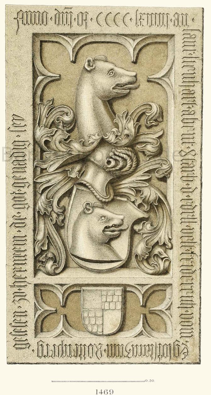Grabstein des Friedrich von Egloffstein.