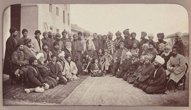 مارشال سر رابرتس و سرداران کابل (به شمول امیر محمد یعقوب) پس از فتح کابل