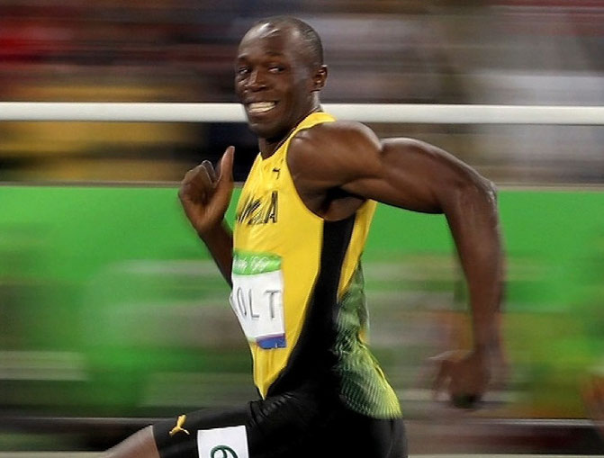 usain bolt sprint flash gordon