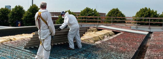 Asbestentsorgung - wir übernehmen das für Sie!