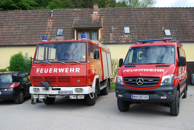 HLF1-W und TLF-A 4000 der FF Klingfurth