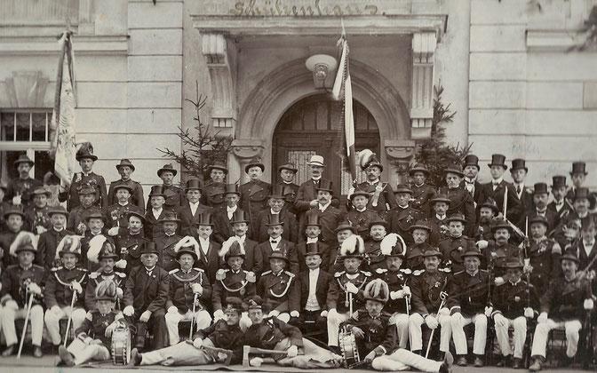 Teile der Schützengesellschaft 1913 (1)