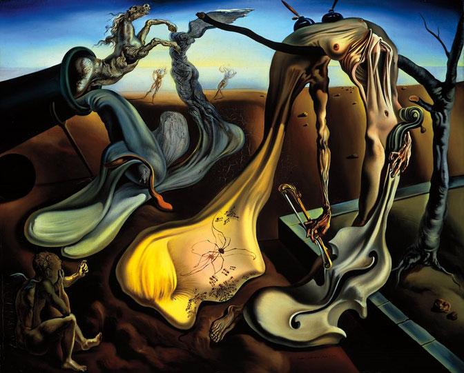 サルバドール・ダリ「夜のスパイダー」(1940年)