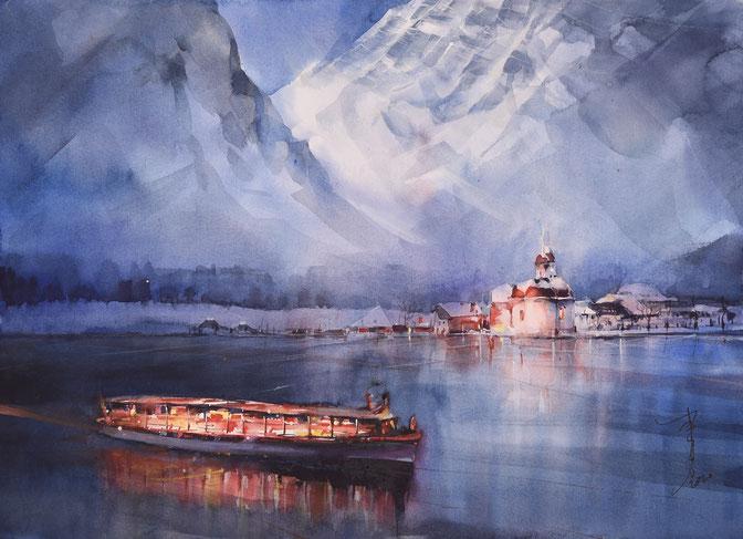 Aquarell von Yong Chen