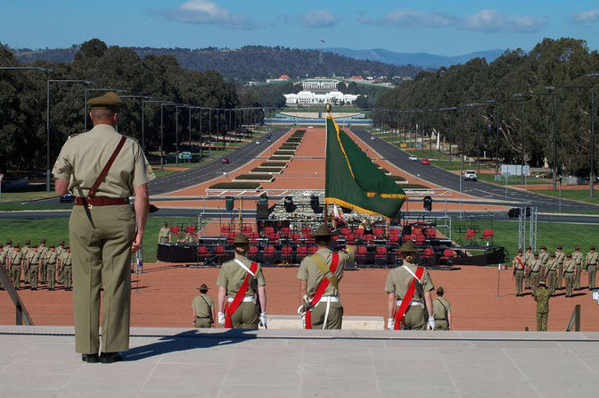 Canberra ANZAC Parade