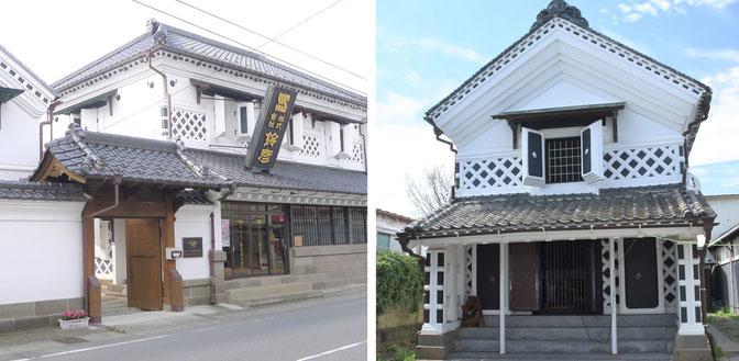 古いまちなみをいかすまち「みやぎの明治村」登米(登米市登米町)の登録有形文化財調査(海老喜、ヤマカノ醸造、角田屋、菅勘資料館)など、歴史的建造物の保存活用を進めています。登米市はNHK連続テレビ小説「おかえりモネ」の舞台としても注目の町並みです。