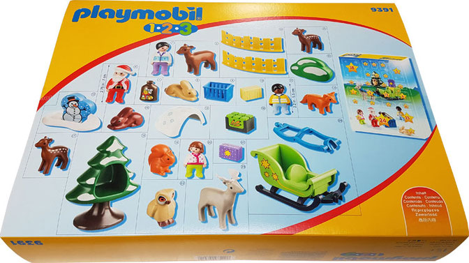 Playmobil 123 Adventskalender 2018, Playmobil 9391