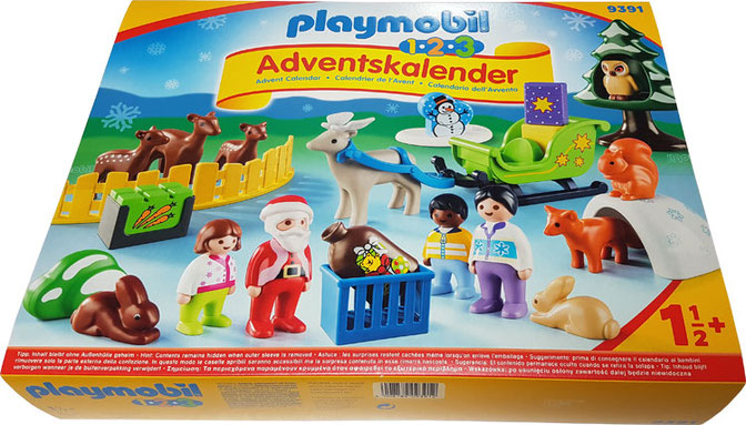 Playmobil 123 Adventskalender Waldweihnacht, Adventskalender 1,5 Jahre, Adventskalender 18 Monate