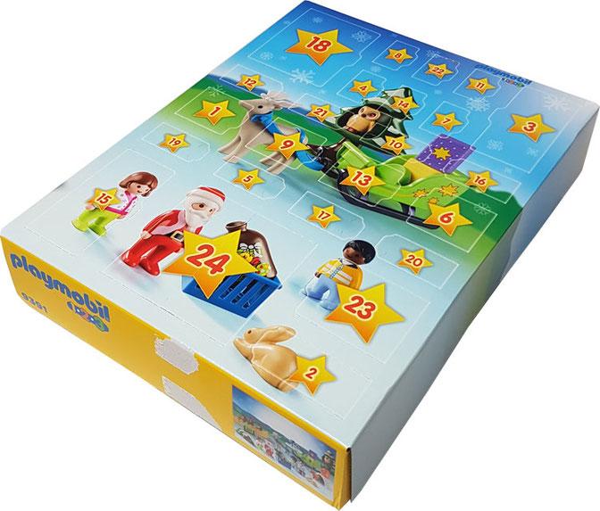 """Adventskalender """"Playmobil 123 Waldweihnacht"""", playmobil adventskalender 1.2 3 waldweihnacht, playmobil adventskalender"""