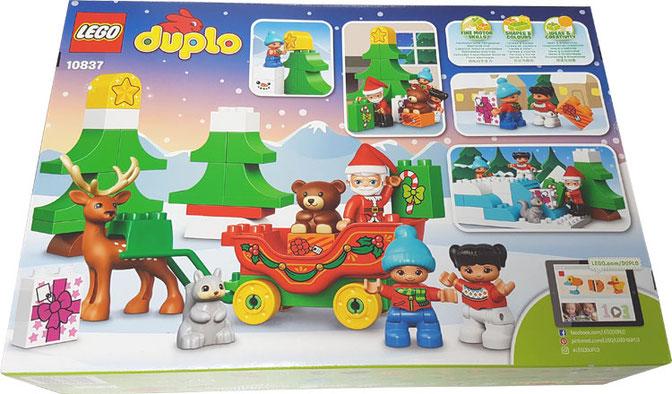 Lego Duplo Winterspaß mit dem Weihnachtsmann, duplo winterspass mit dem weihnachtsmann