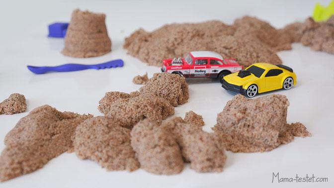 kinetic sand spielen, sand für drinnen, spielsand für drinnen