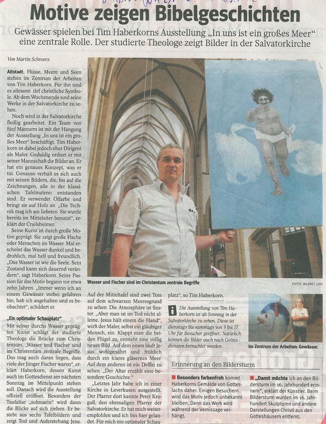 Westdeutsche Allgemeine Zeitung, 7. September 2012