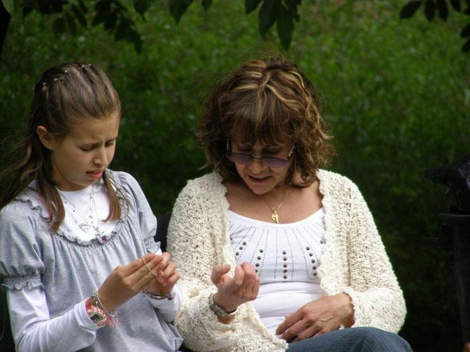 Giulia e Cristina.