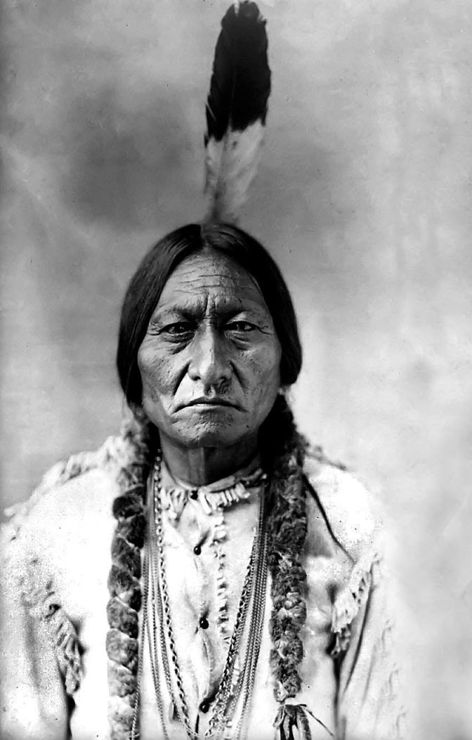 Sitting Bull - Toro Seduto
