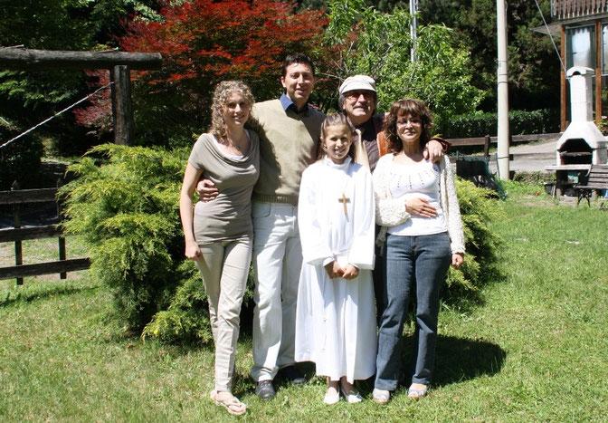 Da Sinistra - Desde la izquierda - From Left: Paola, Davide, Giulia, io e Cristina