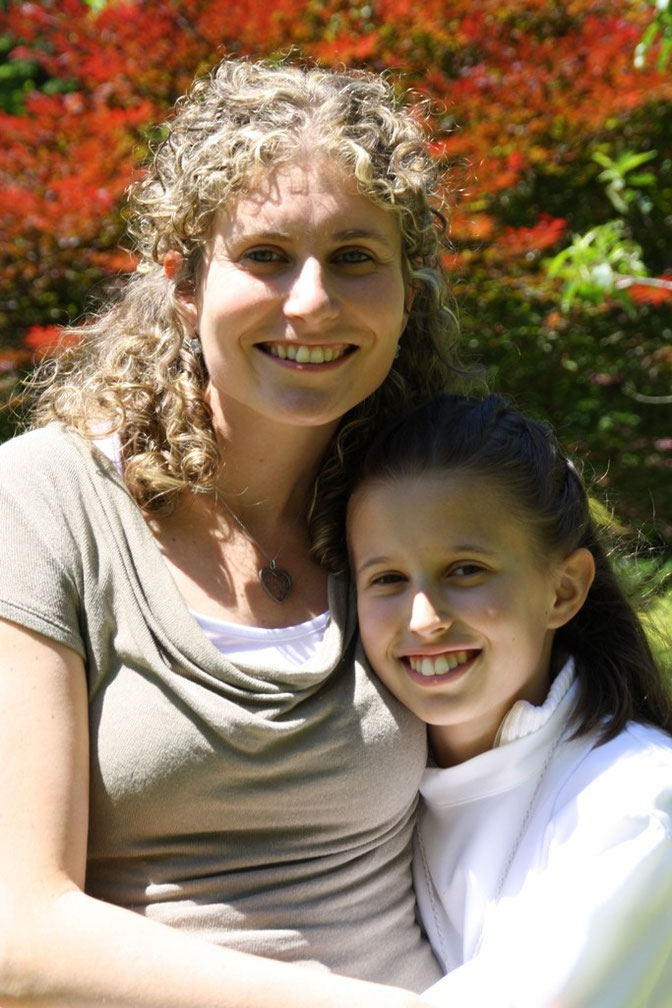 Giulia con la mamma Paola - Julia con su madre Paola - Giulia with his mother Paola