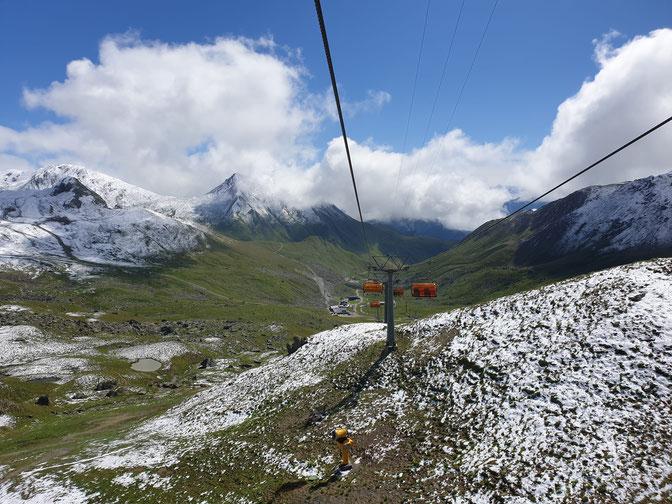 Sessellift von Ischgl in die Schweiz
