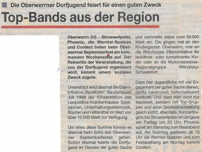 07.07.1999 Schweinfurter Anzeiger