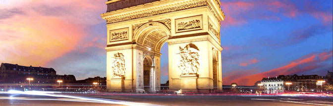 Paris (France)-L'Arc de Triomphe