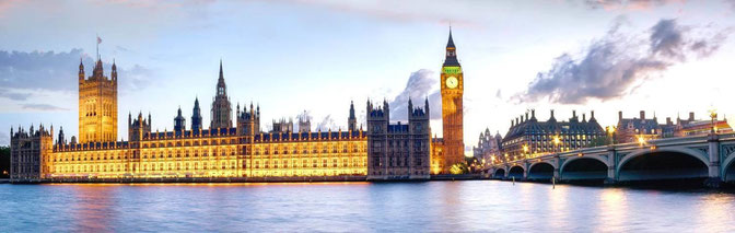 London (England)-Big Ben, Westminster, Bridge and Thames River