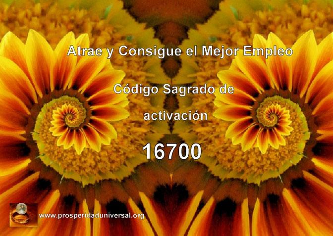 ACTIVACIÓN DEL CÓDIGO SAGRADO NUMÉRICO 16700 -AGESTA-  AFIRMACIONES PODEROSAS P EJERCITACIÓN GUIADA - PARA ATRAER Y CONSEGUIR EL MEJOR TRABAJO- VIBRANDO EN LA ENERGÍA DEL SER DE LUZ - PROSPERIDAD UNIVERSAL