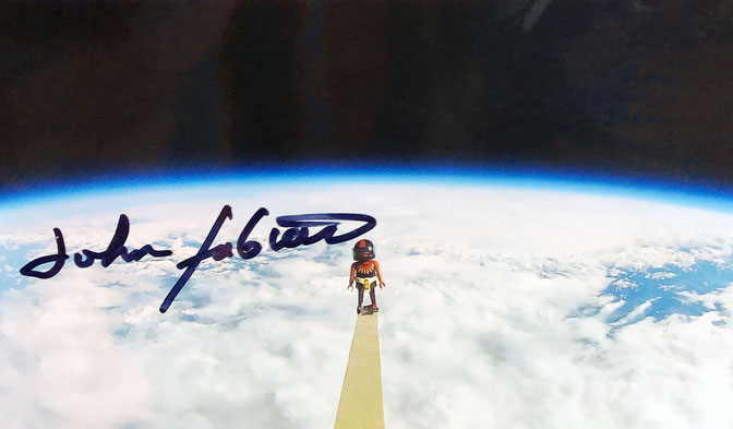 Autograph John Fabian Astronaut