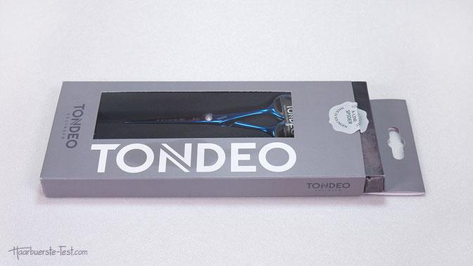 Tondeo Schere Verpackung