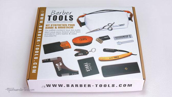 Verpackung Barber Tools Bartpflege Set