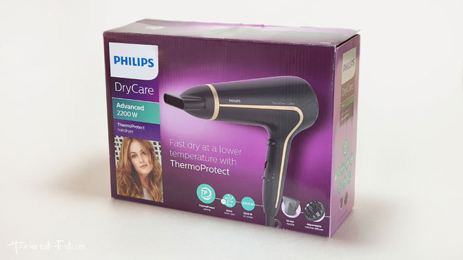 """Philips Haartrockner HP8232/20 """"DryCare Advanced 2200W"""" ThermoProtect: Verpackung"""