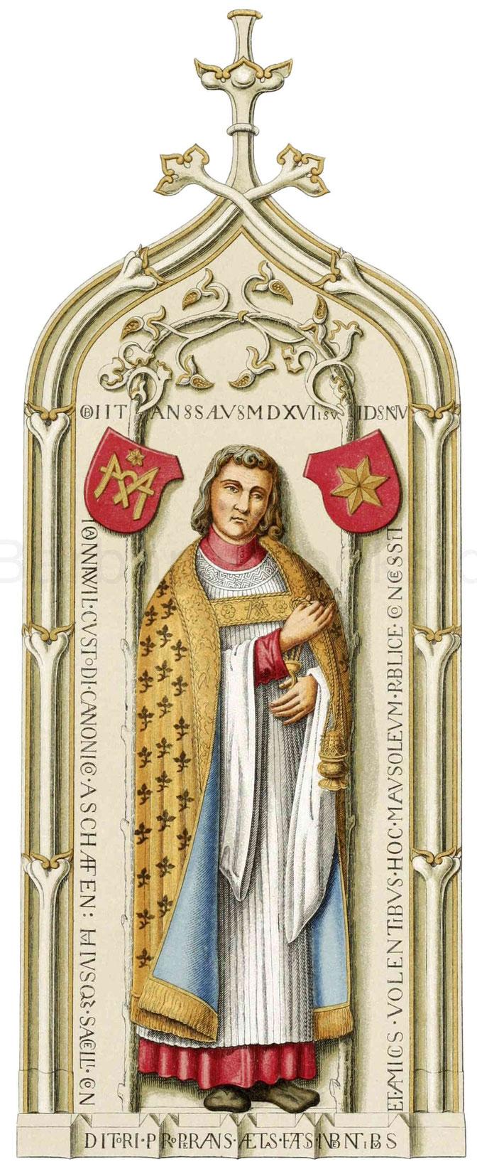 Priesterntracht aus dem 16. Jahrhundert