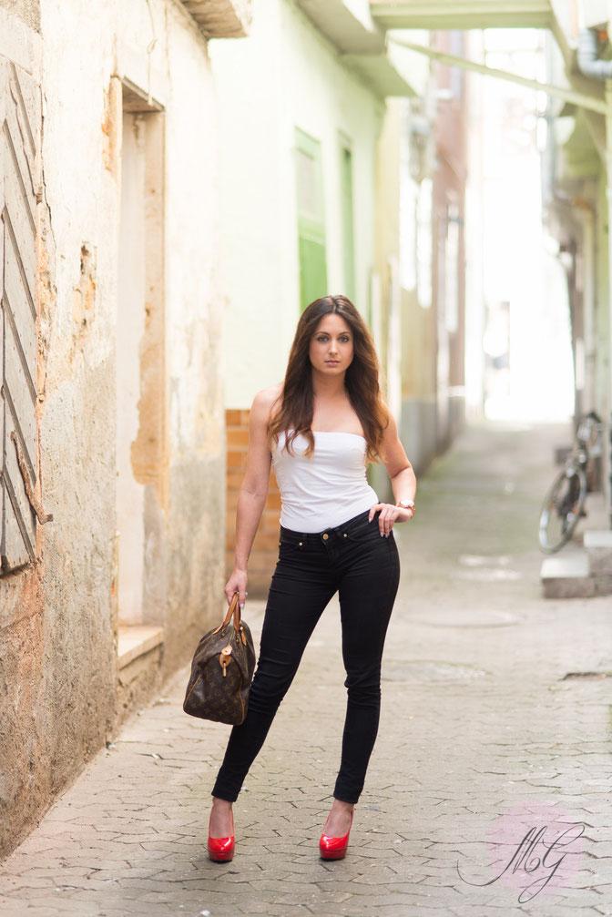 Shooting, Fashion, Portrait, Bad Kreuznach, Shooting, Jasmin Gebhard, Mine im Glück