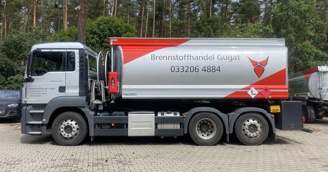 Bild: Brennstoffhandel Gugat Tankwagen
