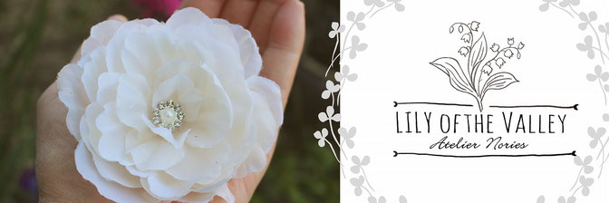 Weddhing Accessory 「lily of the valley」