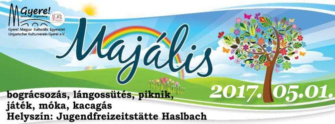 magyar iskola regensburg, majális 2017 gyere! magyar kulturális egyesület