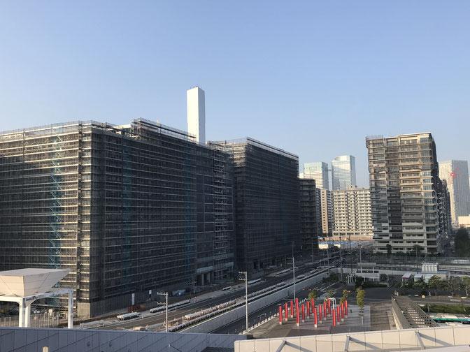 東京オリンピック選手村(建設中:R1.8.10)【晴海フラッグ】