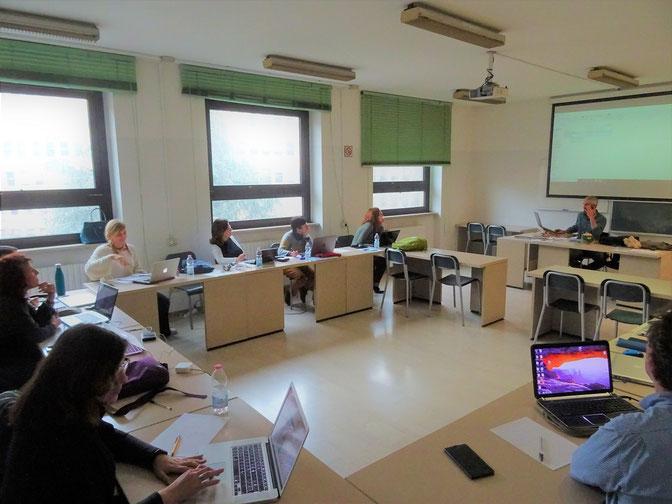 Un'immagine scattata in occasione del corso a Milano in collaborazione con ACTA