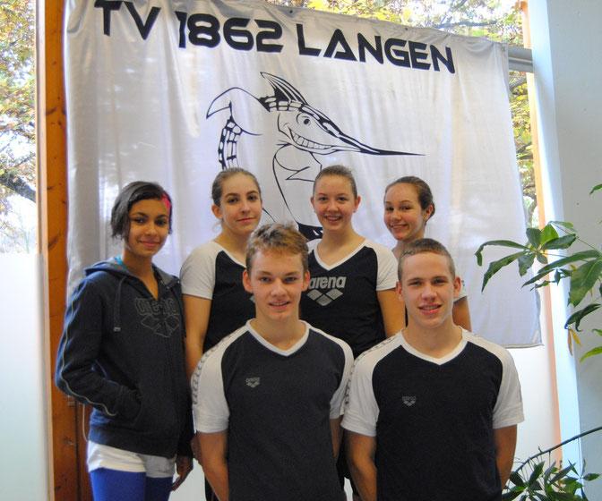 Erfolgreiche TVL-Schwimmer bei den Hessischen Meisterschaften in Frankfurt/Höchst