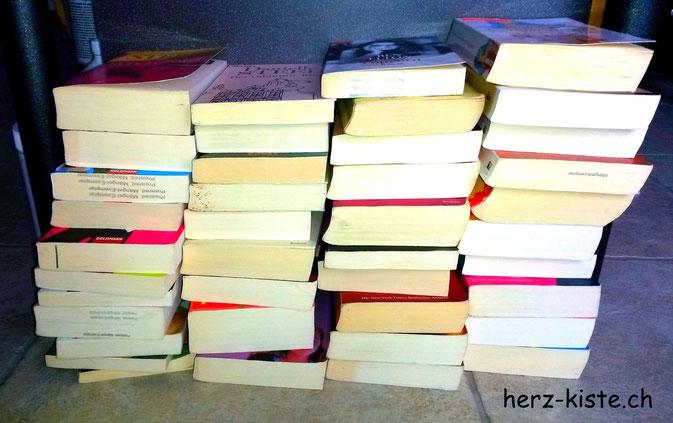 Minimalistisches Jahr Ausmisten Bücher Januar