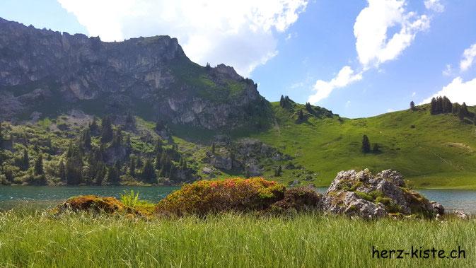 Seebergsee in der Schweiz - Diemtigtal
