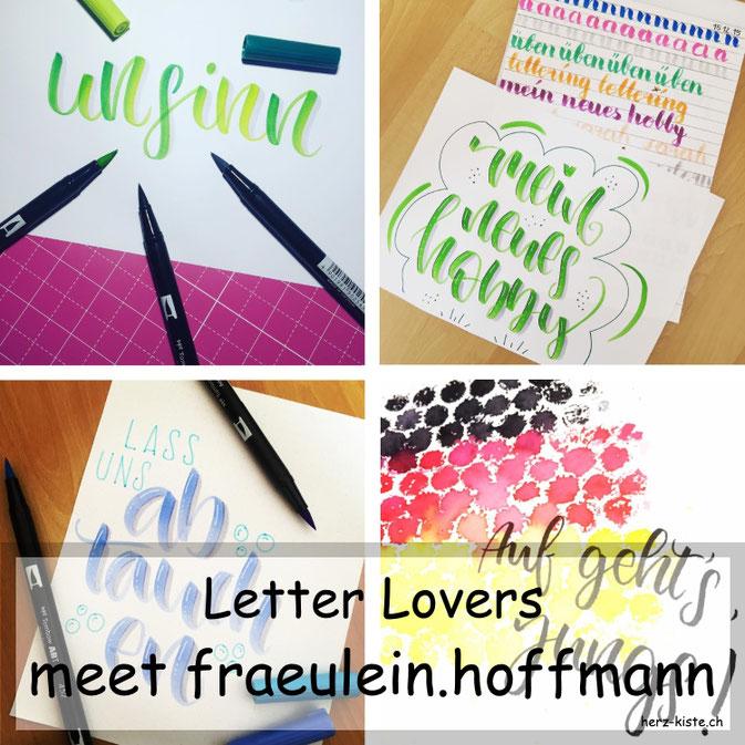 Letter Lovers in der Herz-Kiste: fraeulein.hoffmann zu Gast